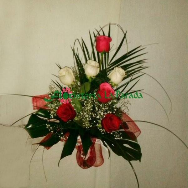 Ramo 7 Rosas Variadas