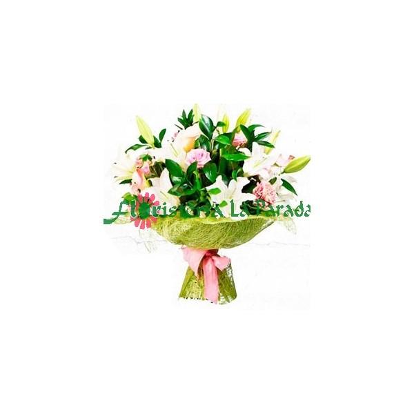 Bouquet de Lilium y Rosas