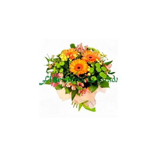 Bouquets Primaveral con Gerberas